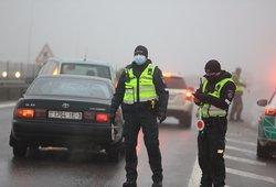 Policija paaiškino, kaip keičiasi judėjimo ribojimai Lietuvoje
