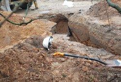 Palaidojo gyvą: Kelmėje užvirtusios žemės pražudė duobėje buvusį vyrą