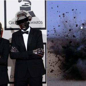 """Grupės """"Daft Punk"""" gerbėjai – sujaudinti: duetas originaliai paskelbė, kad tai – jų pabaiga"""