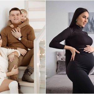 2-ojo vaikelio besilaukianti Lebedeva prabilo apie vyro pagalbą: šis nėštumas kitoks