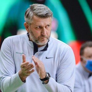 Kariniauską pagyręs Maskoliūnas: mums svarbu laimėti kiekvieną mačą