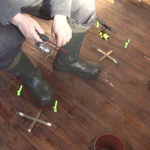 Kupiškyje žvejai stebina sumanumu, viskas – kaip pas tikrus amerikiečius