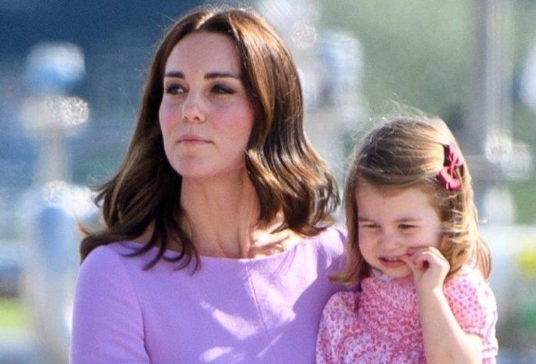 Kate Middleton ir princesė Charlotte  (nuotr. Vida Press)