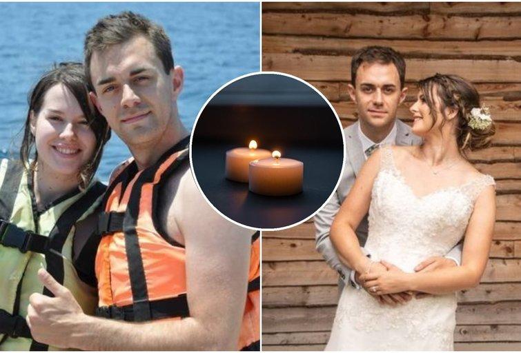 Sugniuždyta žmona pasidalino prisiminimu apie savo tobulą vyrą, kuris Kalėdų dieną prarado sąmonę ir tuoj pat mirė (nuotr. facebook.com)