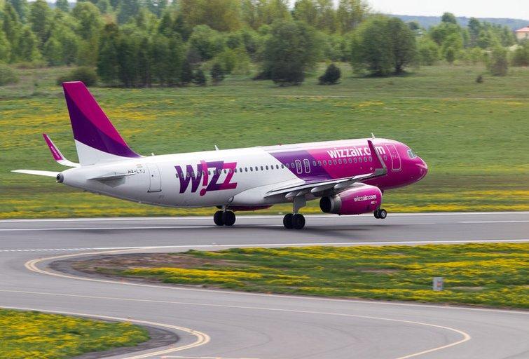 Wizz Air (nuotr. Tv3.lt/Ruslano Kondratjevo)