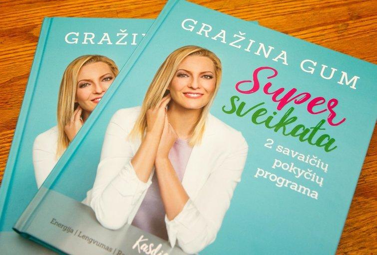 Laimėkite 2 Gražinos Gum knygas (nuotr. Tv3.lt/Ruslano Kondratjevo)