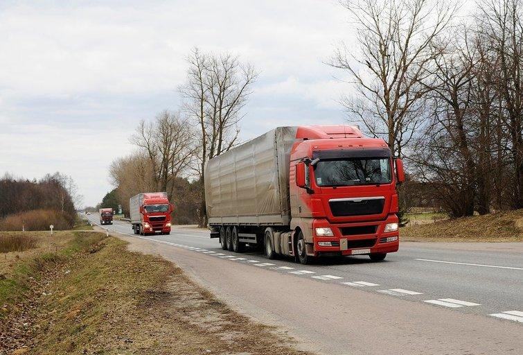 Sunkvežimis, Tomo Urbelionio nuotr.