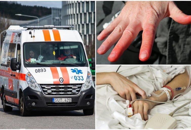 Ligonines užplūdo nušalimus ir lūžius patyrę žmonės  (tv3.lt fotomontažas)