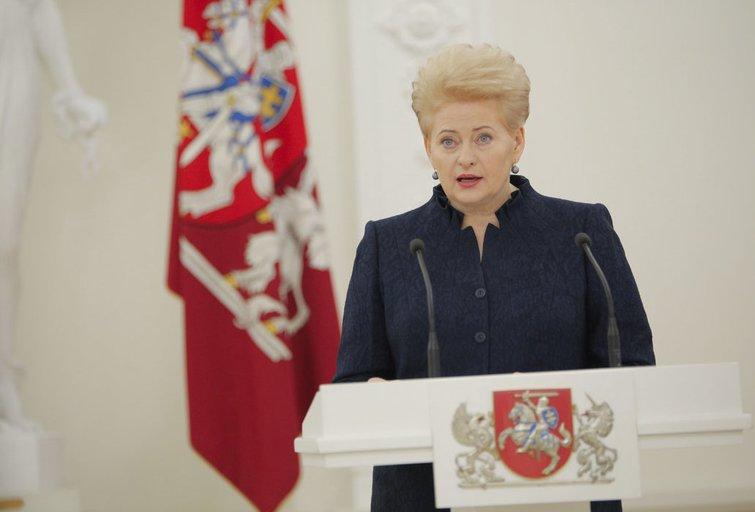 Lietuvos Respublikos Prezidentė susitinka su 17-osios Vyriausybės nariais (nuotr. Fotodiena.lt)