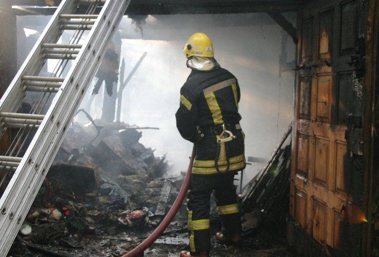 Ugniagesys (nuotr. Broniaus Jablonsko)