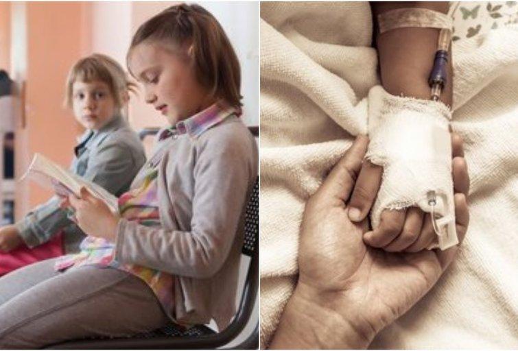 Vaikų depresija (tv3.lt fotomontažas)