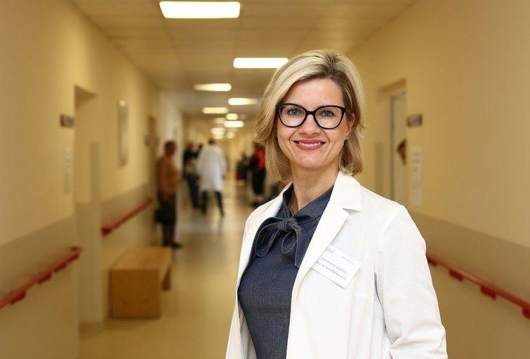 Kauno Respublikinės ligoninės vadovė Diana Žaliaduonytė (nuotr. Fotodiena.lt)