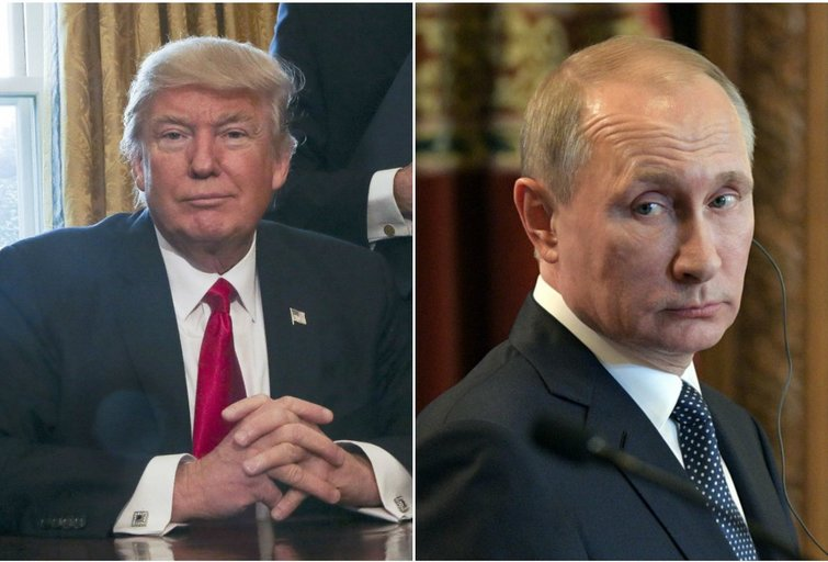 """Baltųjų Rūmų antausis Trumpo fanams iš Rusijos: tai buvo geras """"šaltas dušas"""" (nuotr. SCANPIX)"""