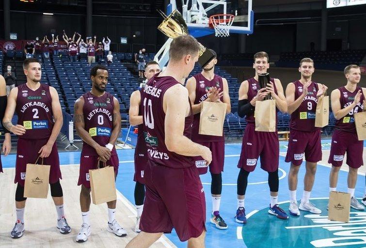 Panevėžio ekipa laimėjo draugišką turnyrą (nuotr.  KK Lietkabelis)