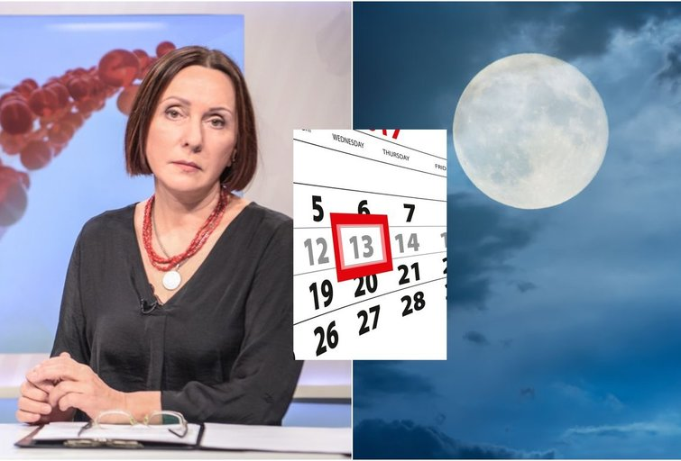 V. Budraitytė apie penktadienį tryliktąją (tv3.lt fotomontažas)