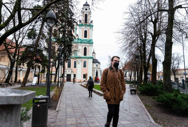 Ruduo Vilniuje (nuotr. Fotodiena/Justinas Auškelis)