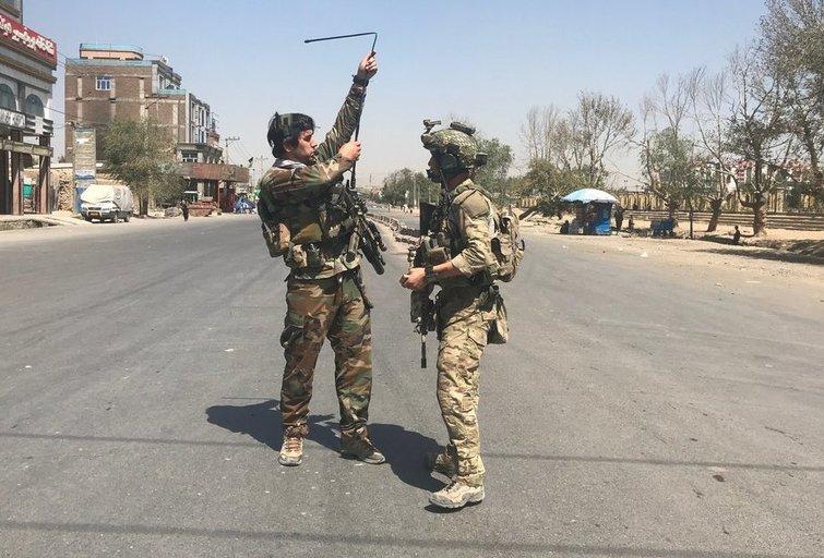 Afganistano sostinė atakuota raketomis, vyksta susirėmimai (nuotr. SCANPIX)