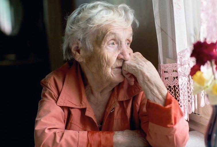 """Senolė: """"Neduokit nei gerti, nei valgyti, kad tik ši katorga greičiau baigtųsi"""" (Nuotr. B. Petkevičiūtės)"""