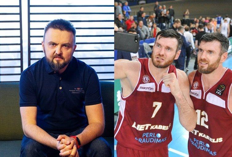 Stanislavas Stavickis-Stano ir Darjušas bei Kšištofas Lavrinovičiai (tv3.lt fotomontažas)