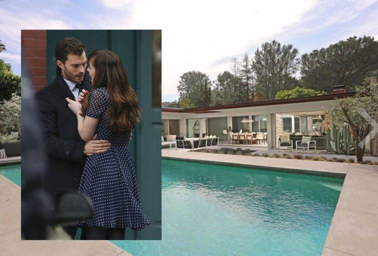 Jamie Dornanas parduoda namus (tv3.lt fotomontažas)