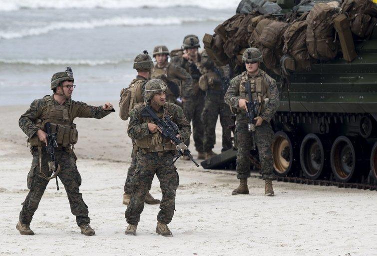 NATO karinės pratybos Baltijos jūroje, 2018 metai (nuotr. SCANPIX)