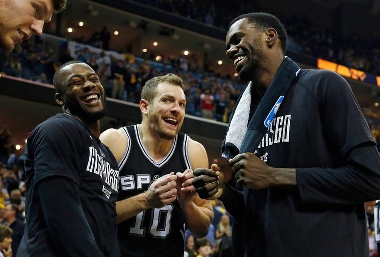 "Memfio ""Grizzlies"" – San Antonijo ""Spurs"" 96:103 (nuotr. SCANPIX)"