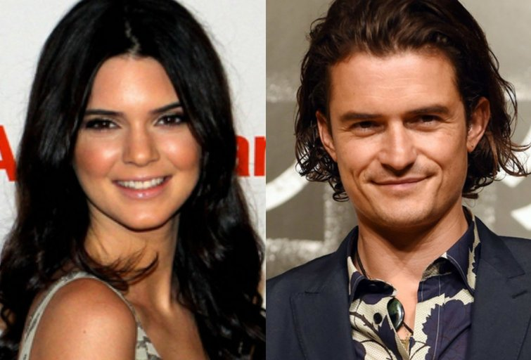 Kendall Jenner ir Orlando Bloomas (nuotr. SCANPIX)