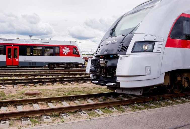 Traukinys.Asociatyvi nuotrauka (bendrovės nuotr.)