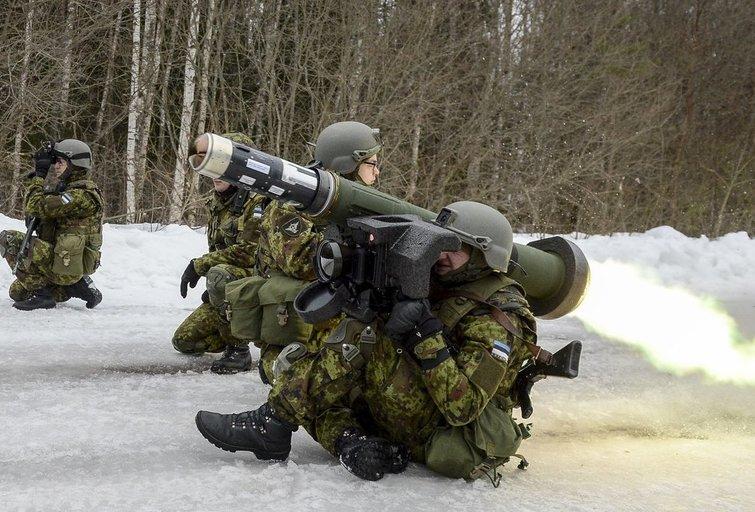 """""""Javelin"""": tankų žudikas, keliantis baimę Rusijai (nuotr. Vida Press)"""
