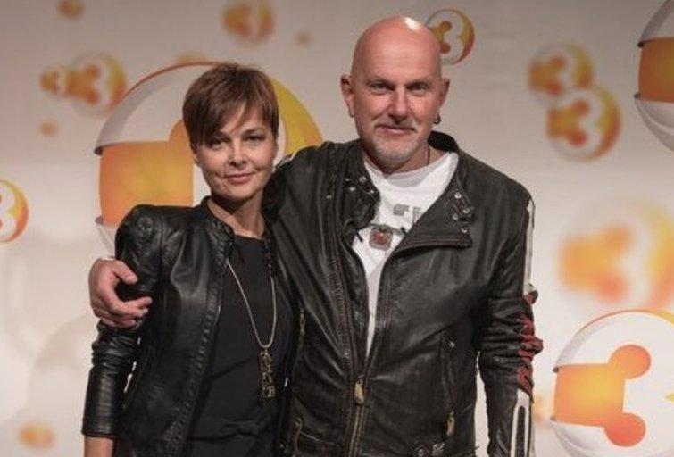 Gintaras Kudaba su žmona (nuotr. Organizatorių)