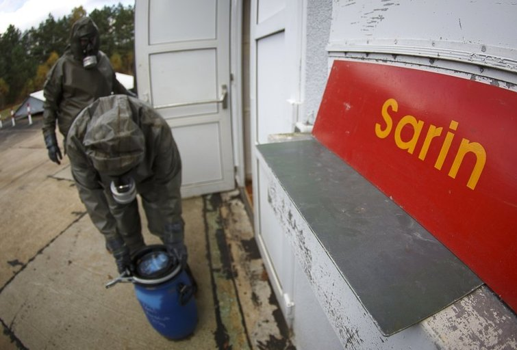 Kodėl nepavyko atsikratyti cheminiais ginklais Sirijoje? (nuotr. SCANPIX)