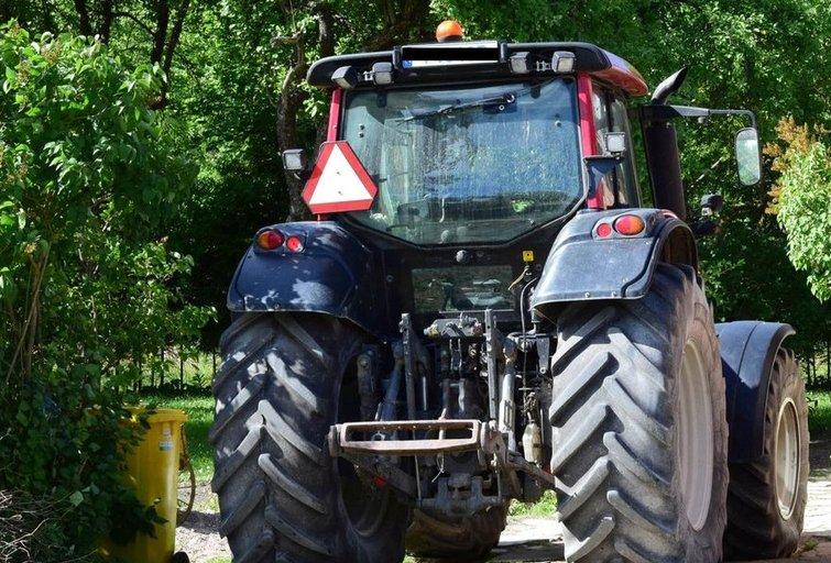 Traktorius (Policijos nuotr.)
