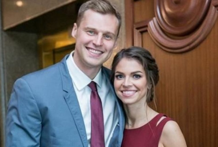 Martynas Pocius su žmona Viktorija  (nuotr. Instagram)