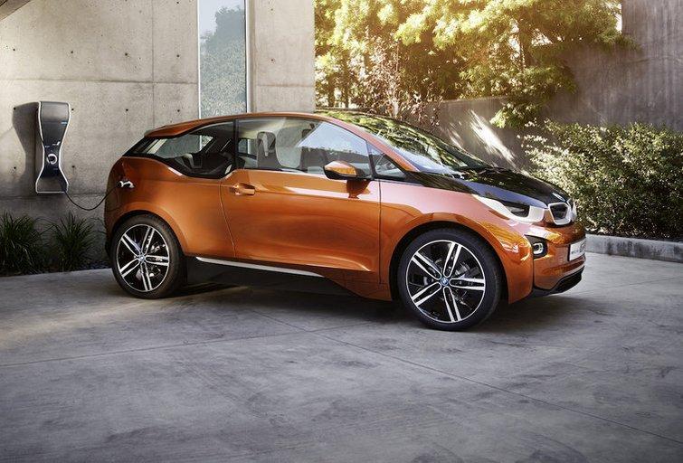 """""""Bridgestine"""" sukūrė unikalias padangas automobiliui """"BMW i3"""" (nuotr. Gamintojo)"""