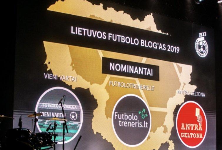 2020-ųjų Optibet Lietuvos futbolo apdovanojimai: kandidatai tapti geriausiu metų blog'u