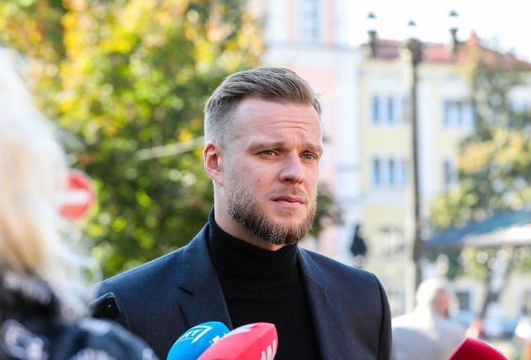 Gabrielius Landsbergis atvyko balsuoti (fotobankas.lt nuotr.) (nuotr. tv3.lt)