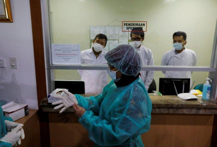 Kinijoje siaučia koronavirusas (nuotr. SCANPIX)
