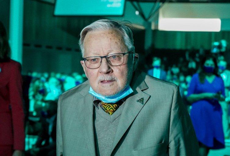 Vytautas Landsbergis (nuotr. Fotodiena/Viltės Domkutės)