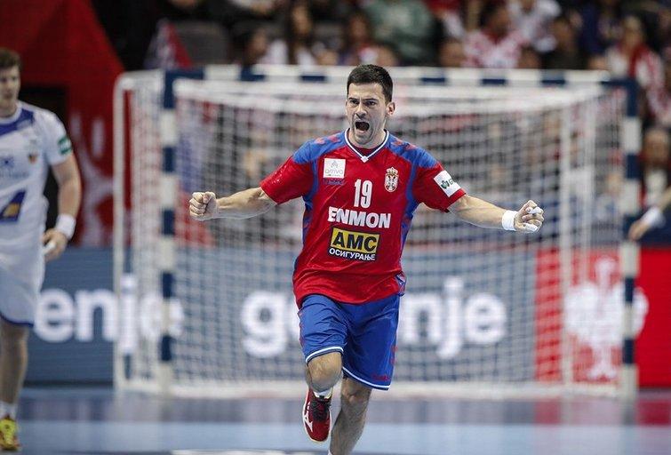 Serbija iškovojo netikėtą pergalę (nuotr. LRF)