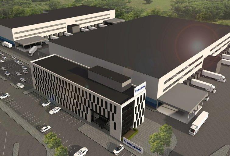 """Hegelmann Transporte"" logistikos centras (nuotr. bendrovės)"