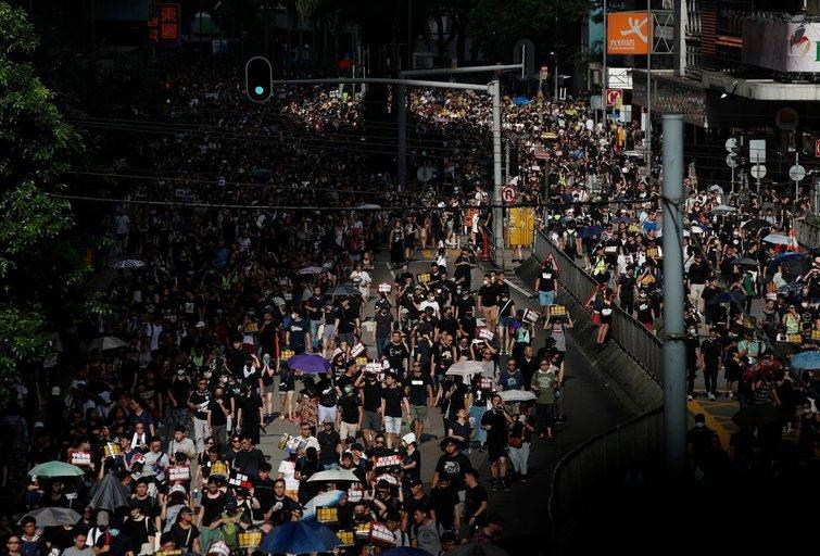 Protestai (nuotr. SCANPIX)