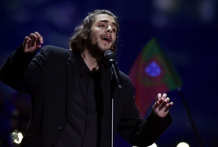 Portugalijos atstovas Eurovizijoje (nuotr. SCANPIX)