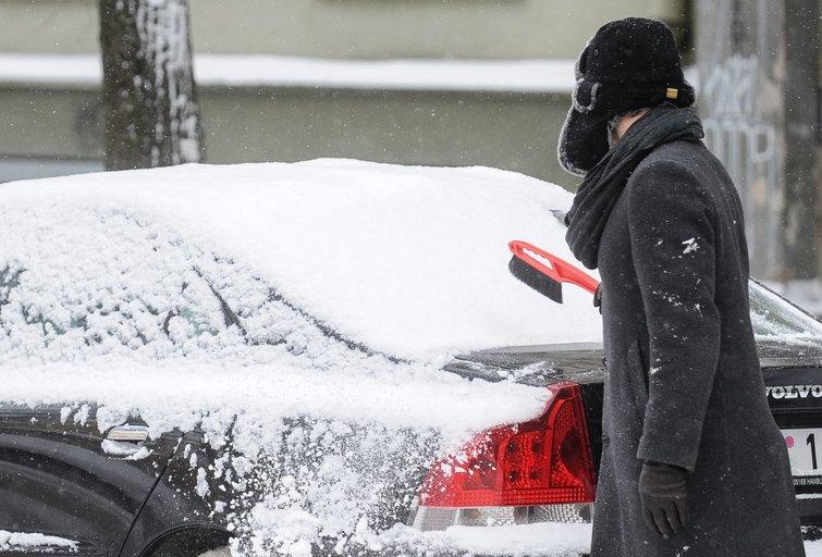 Orai, žiema, šaltis (nuotr. Fotodiena.lt)