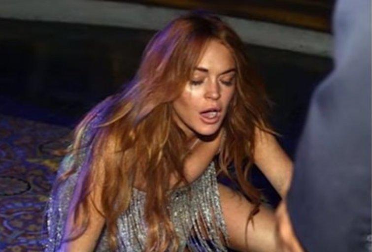 Lindsay Lohan (nuotr. YouTube)