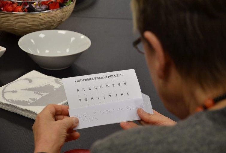 Lietuvos aklųjų biblioteka – tai specialioji biblioteka, skirta žmonėms, negalintiems skaityti įprasto spausdinto teksto. Viktoro Kalniko nuotr.