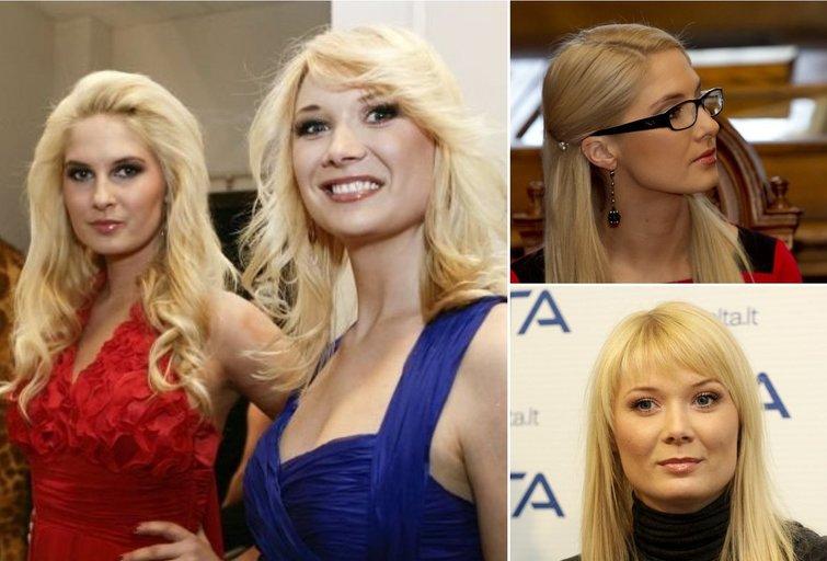 Kristina ir Natalija (tv3.lt fotomontažas)