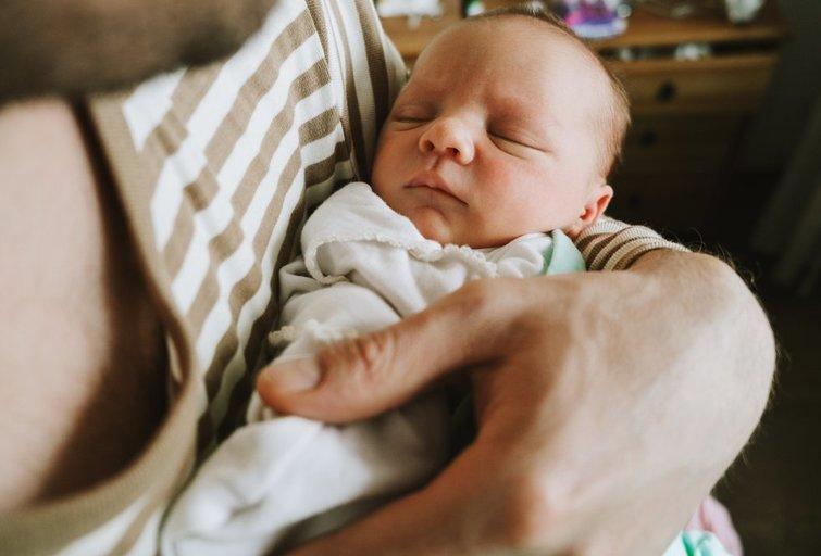 Naujagimis  (nuotr. Shutterstock.com)