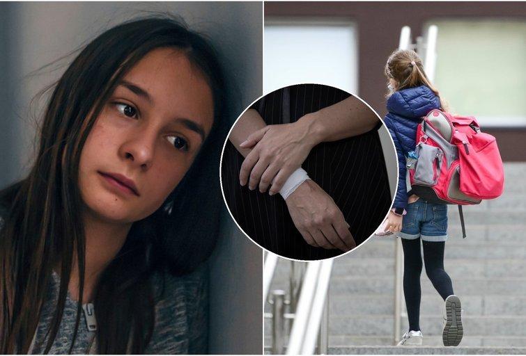 Lietuvė mama atskleidė žiauriąją karantino pusę: dukra iš vienišumo ėmė žaloti save  (nuotr. Shutterstock.com)