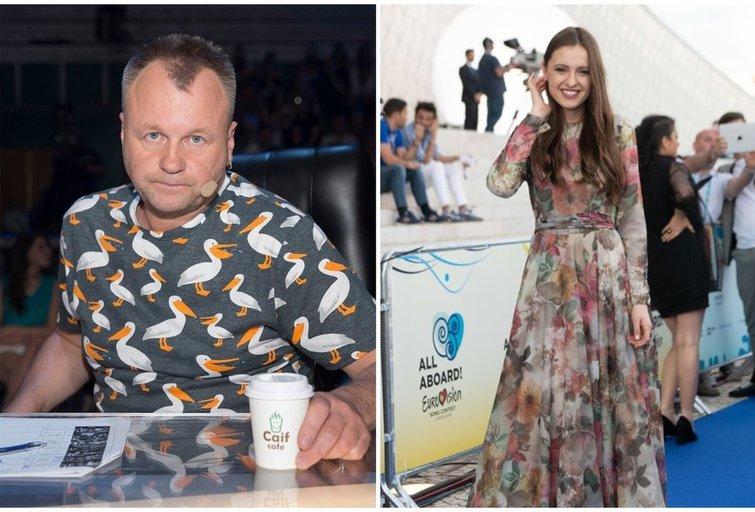 Saulius Urbonavičius-Samas ir Ieva Zasimauskaitė (nuotr. tv3.lt)