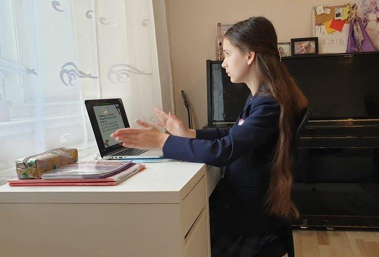 Mokymasis namuose (nuotr. Raimundo Maslausko)